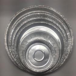 Molde Tarta Papel Aluminio