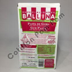 Pasta de goma x500 gr Ballina
