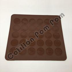 Placa silicona Macarons
