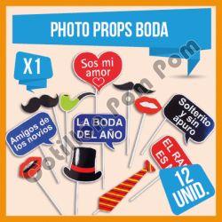 Photo Props Boda