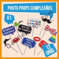 Photo Props Cumpleaños