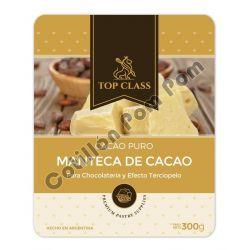 Manteca de Cacao x300 gr...