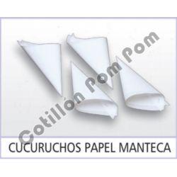 Cucuruchos Papel Manteca x12