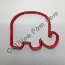 Cortante Plástico Elefante