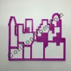 Cortante Plástico Edificios