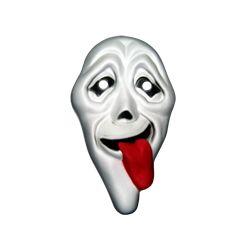Máscara Goma eva: Scream...