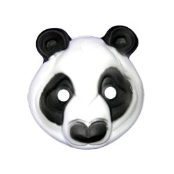 Máscara Goma eva:  Panda