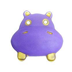 Máscara Goma eva: Hipopotamo