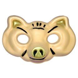 Máscara Goma eva: Chancho