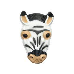 Máscara Goma eva: Cebra