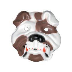 Máscara Goma eva: Bulldog