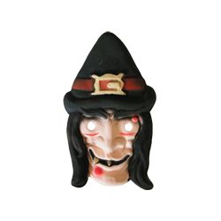 Máscara Goma eva: Bruja con...