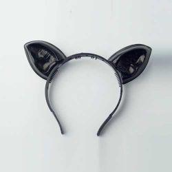 Vincha Plástica: Gatito