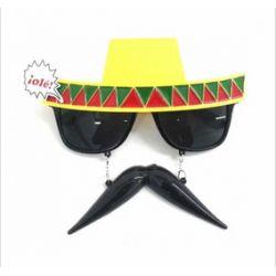Anteojos Mexicano con Bigote