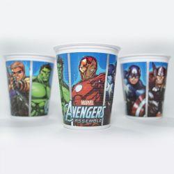 Vasos x10 Avengers