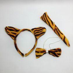 Set Vincha y Cola: Tigre