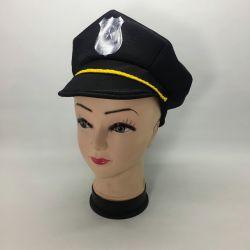 Gorra Jersey: Policia Negro