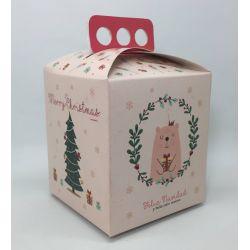 Caja para Pan Dulce Rosa