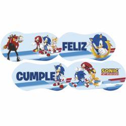Banderin Feliz Cumple x1 Sonic