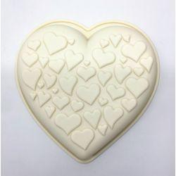 Molde de Silicona: Corazón...