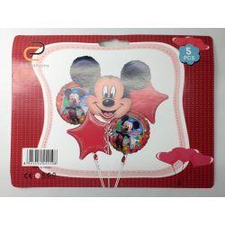 Set Globos Mickey: 5 Piezas