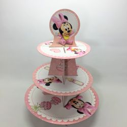 Torre 3 pisos Cupcakes:...
