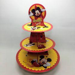 Torre 3 Pisos Cupcakes: Mickey