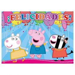 Afiche x1 Peppa Pig