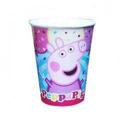 Vasos x10 Peppa Pig