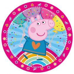 Platos x10 Peppa Pig