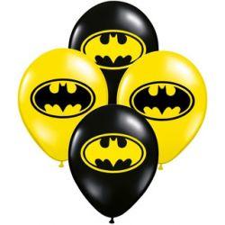 "Globos 12"" Batman x12 u."