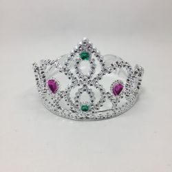 Corona Princesa Plateada x1