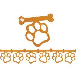 Guirnalda Huellas perro x1