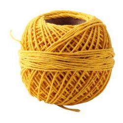 Hilo de algodón Amarillo...