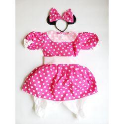 Disfraz Niña Minnie Rosa -...