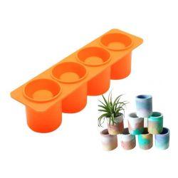 Molde silicona: Vaso shot -...
