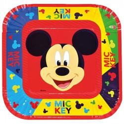 Platos x10 Mickey