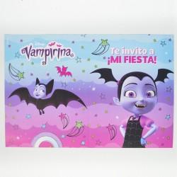 Invitaciones x10 Vampirina