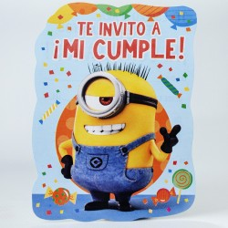 Invitaciones x10 Minions
