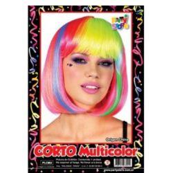Peluca Carre x1 Multicolor
