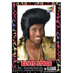Peluca Elvis x1
