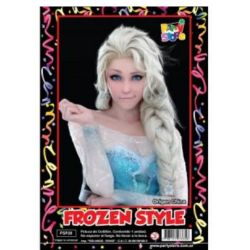 Peluca Frozen x1
