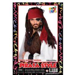 Peluca Pirata x1